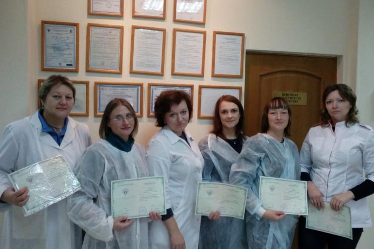 Об успешном проведении курсов повышения квалификации в Учебном Центре ФГБУ «Краснодарская МВЛ»
