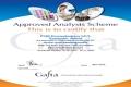 О получении сертификата Международной Ассоциации Торговли Зерном и Кормами (GAFTA)