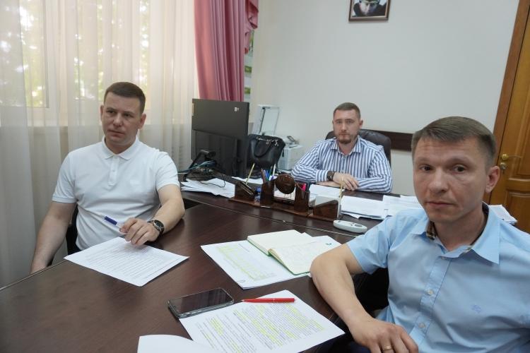 Директор ФГБУ «Краснодарская МВЛ» Дмитрий Чумаков провел совещание с начальниками межрайонных отделов учреждения