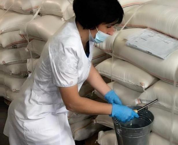 В Кавказском МРО отобраны пробы муки, идущей на экспорт