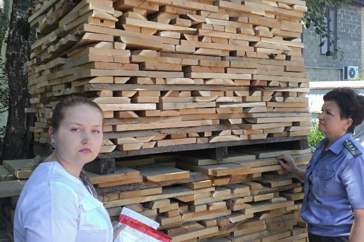 Предприятиям Апшеронского района, вывозящим лесопродукцию, было выдано 76 заключений о состоянии подкарантинной продукции